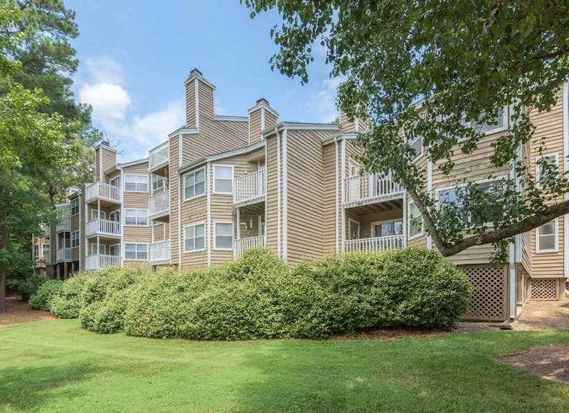 Audubon, an Atlanta-based real estate firm, announced that it acquired the 180 West Apartment Homes in Carrboro. Photo courtesy of Audubon.