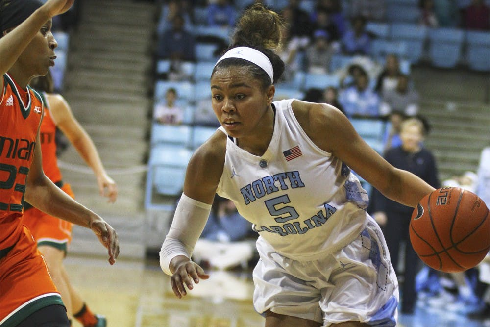 Watts continues to be bright spot in UNC women's basketball's tough season