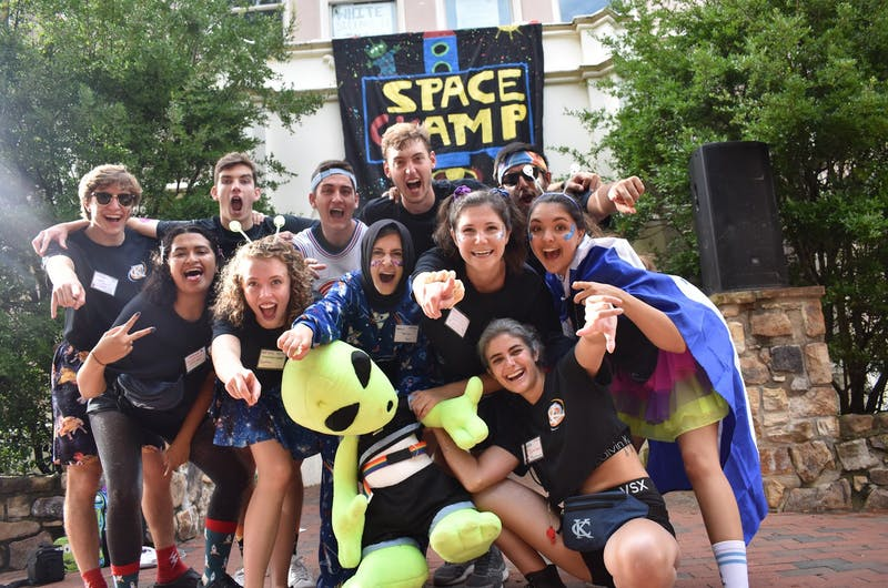 Carolina Kickoff is an annual three-day camp held before students move into campus. This year, the co-chairpersons said they are still planning the camp as normal, until they hear word from the Campus Y or University. Photo courtesy of Jessie LaMasse.