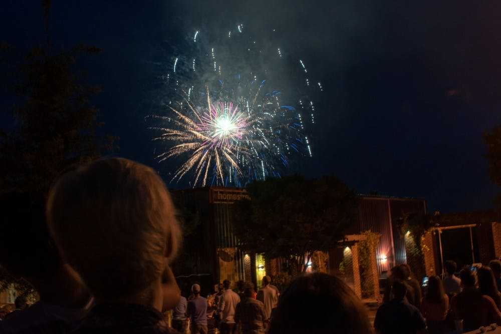 The Town of Chapel Hill's Fourth of July festival dazzled patrons at Southern Village