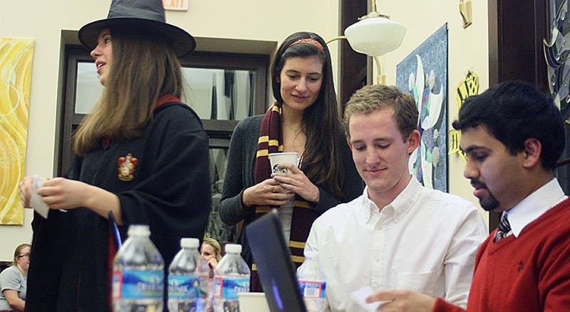 To support the on campus group Project Literacy, students held a Harry Potter trivia contest.
