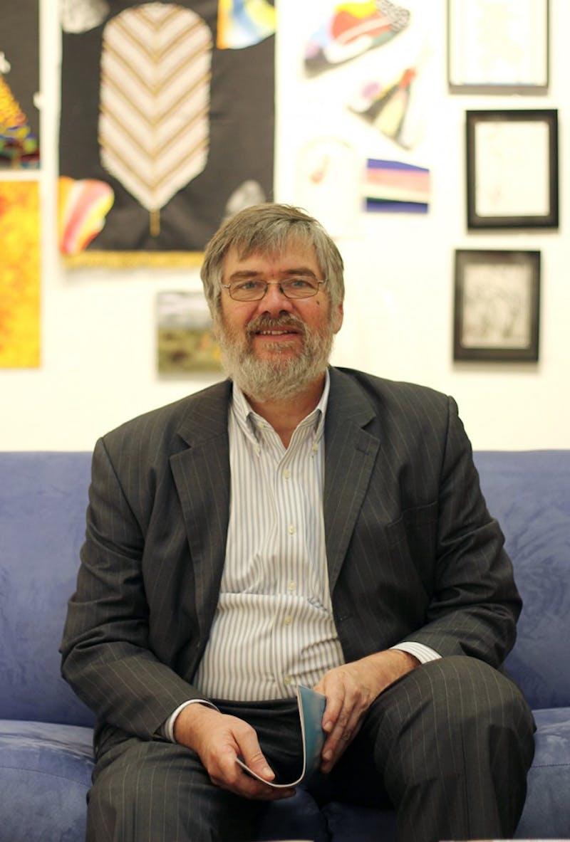 Art Menius, director of the Arts Center in Carrboro