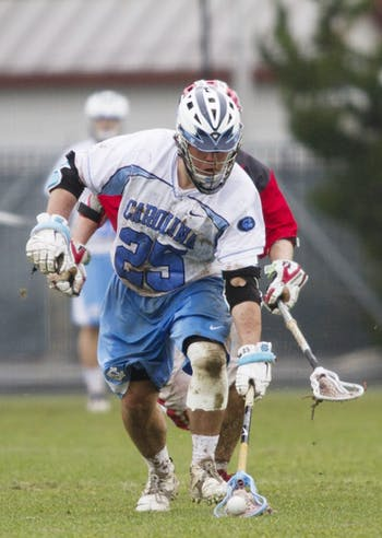 R.G. Keenan sparked the Tar Heels second half run with dominance on the face-off X. He won eight of 12 second half face-offs.