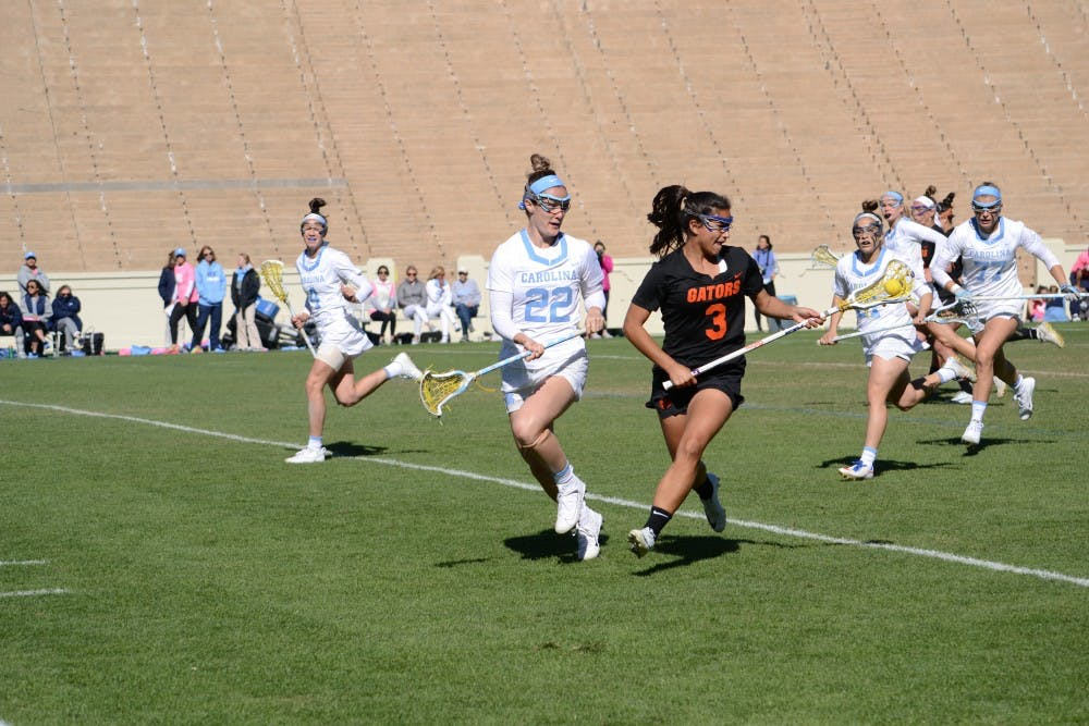 Maggie Bill's return for UNC women's lacrosse a bright spot in loss to Florida