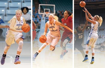 DTH graphic: Zsofia Voros; DTH original file photos: Shepard Barnes, Jason Armond and Gabrielle Thompson