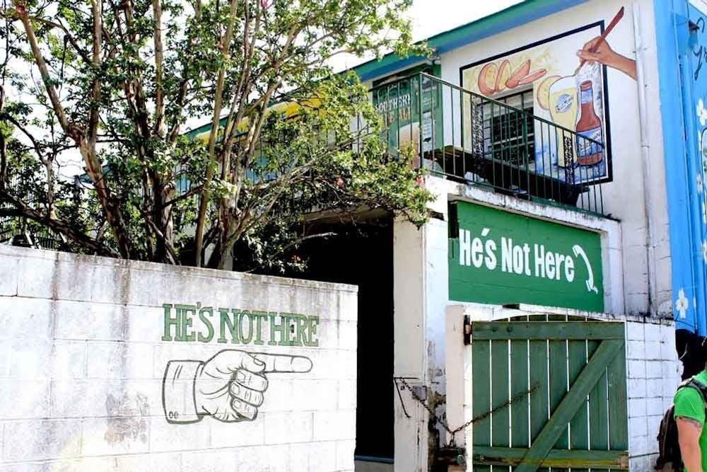 <p><em>Courtesy of He's Not Here</em></p>