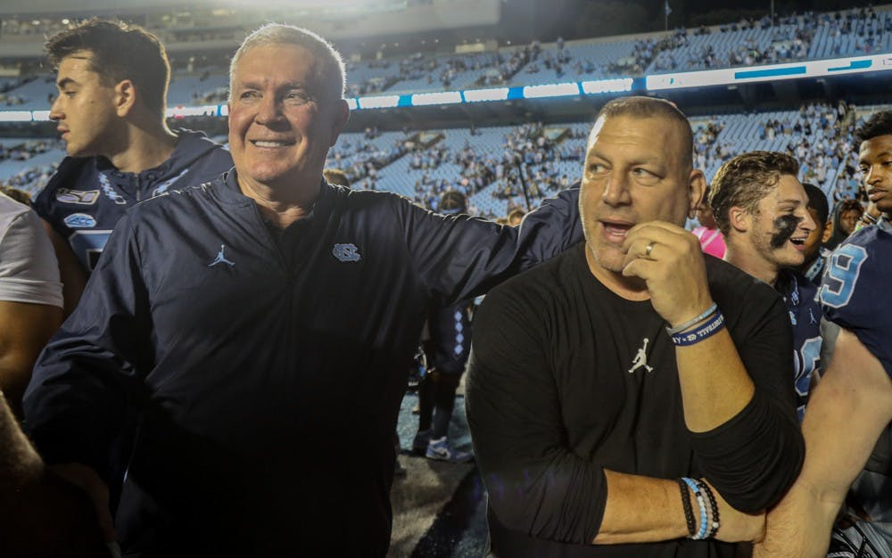 UNC football coaches look to capitalize on extended break ahead of Boston College game