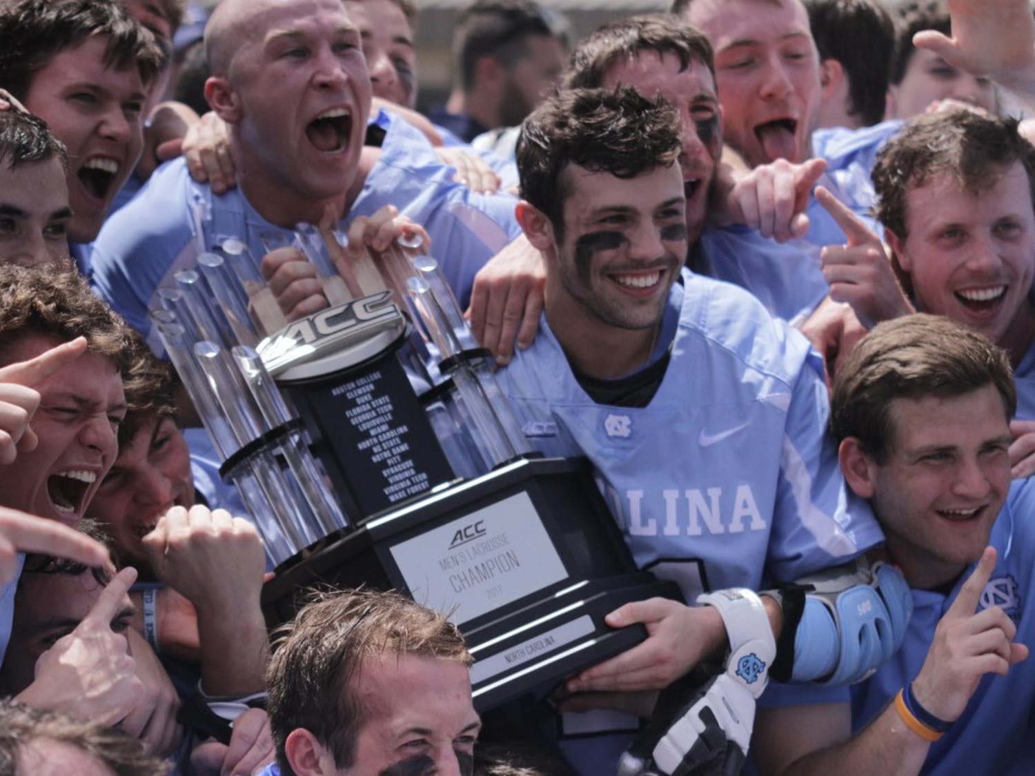 With a 14-10 win over Notre Dame on Sunday afternoon to win the ACC Championship, UNC collected the program's ninth conference championship.