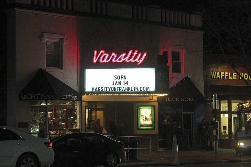 The Varsity Theatre is hosting a viewing party for the UNC-Duke game on Thursday.