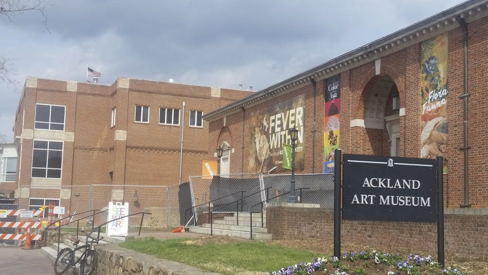 The Ackland Art Museum is closing for 13 days for construction.