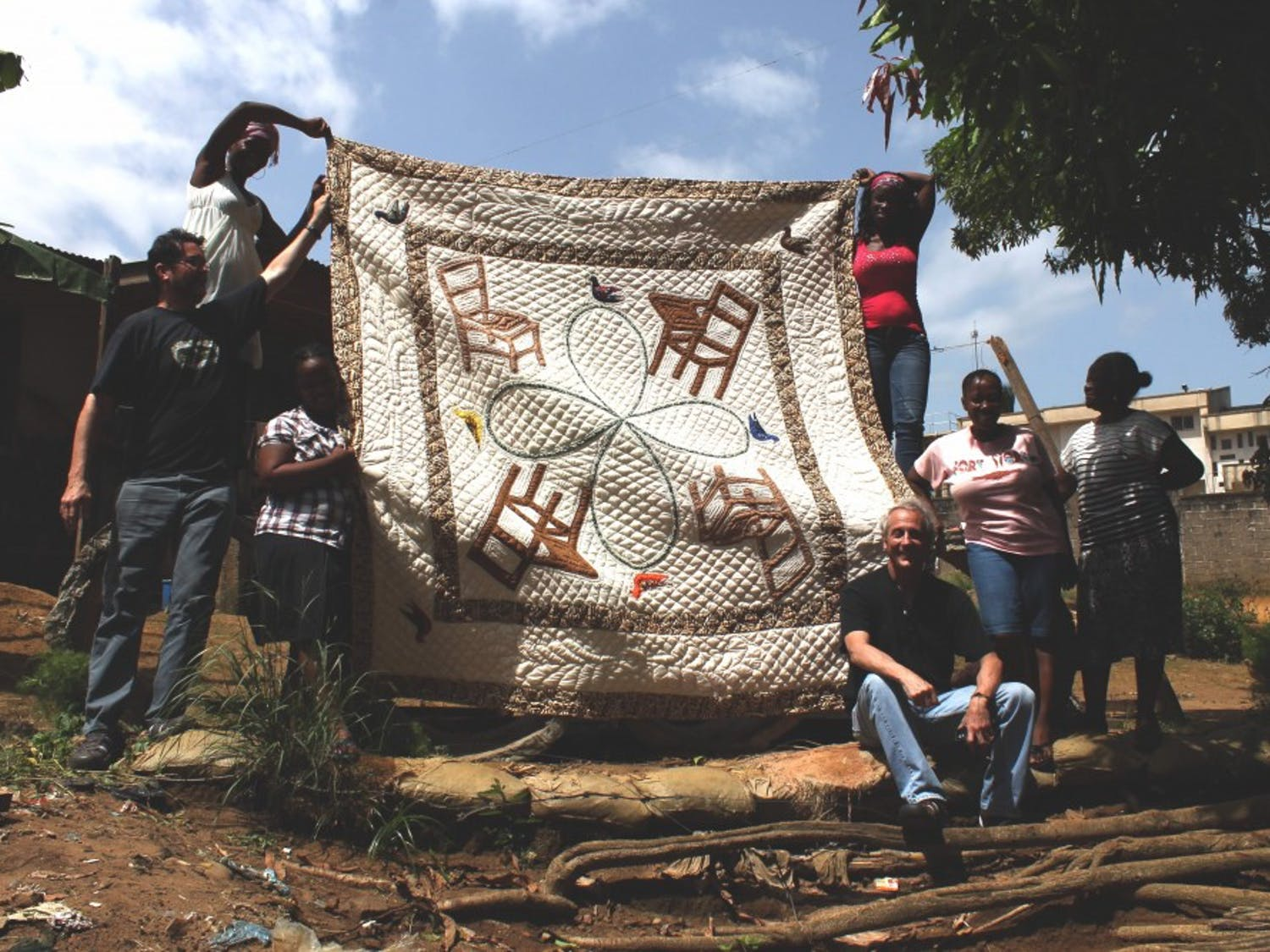 """Soft Diplomacy: Quilting Cultural Diplomacy in Liberia"" will be on exhibit at Western Carolina University until May. Photo Courtesy of Jill Jacobs."