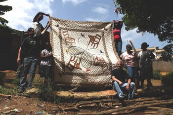 """""""Soft Diplomacy: Quilting Cultural Diplomacy in Liberia"""" will be on exhibit at Western Carolina University until May.Photo Courtesy of Jill Jacobs."""