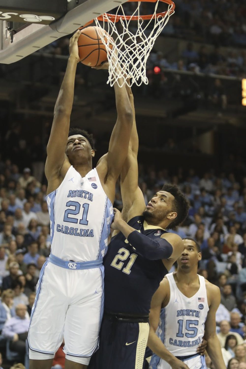 ANALYSIS: UNC men's basketball looks for continued growth from sophomore big men