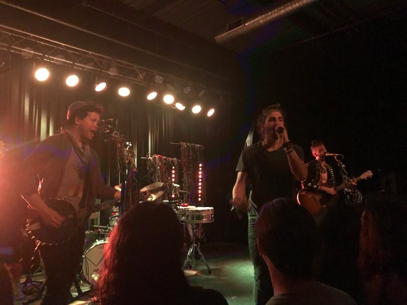 Magic Giant performed at Cat's Cradle Back Room on Tuesday.
