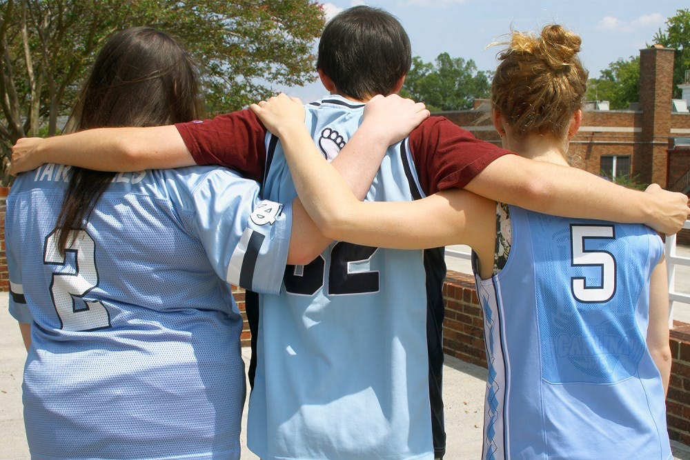 Players' jerseys still on sale at UNC, but policy may change next year