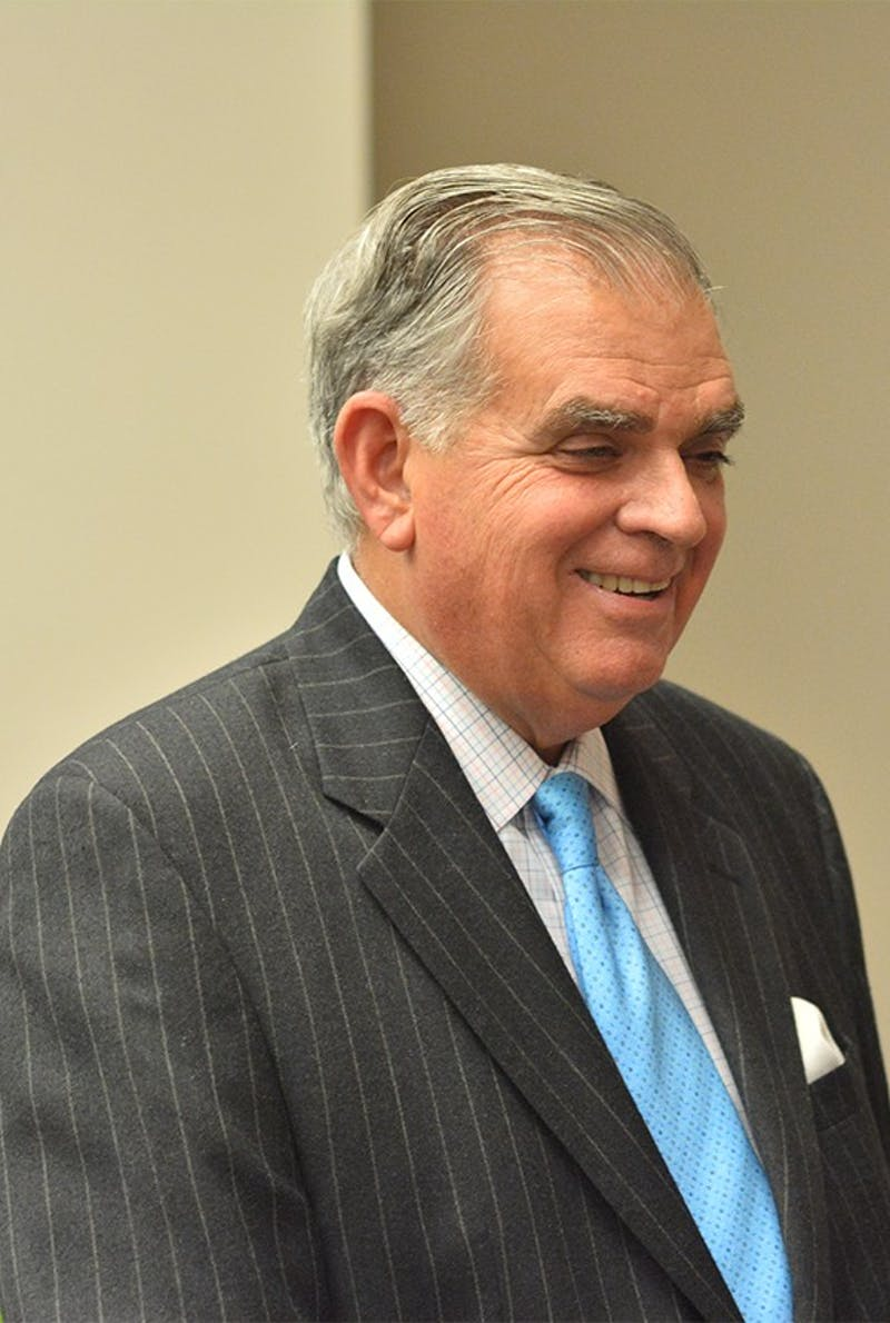 Former U.S. Transportation Secretary Ray LaHood spoke at the UNC School of Government on Thursday, Nov. 11.