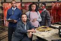 """Playmakers Repertory Company's newest show is """"Skeleton Crew."""" Photo courtesy of Playmakers Repertory Company."""
