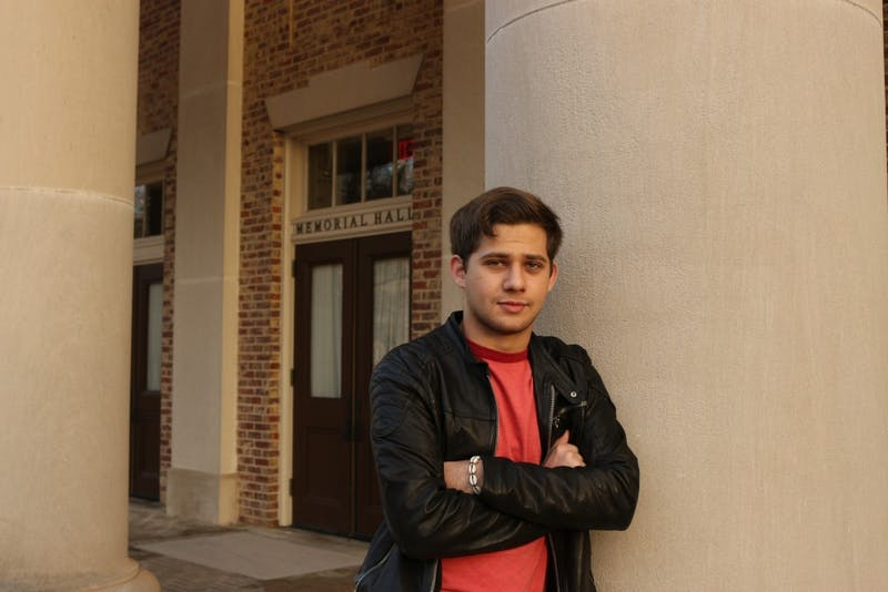 "UNC sophomore Michael Perez is currently earning a degree in music with a focus in singing, while also pursuing an acting career. Perez played the role of Jon in the popular Netflix show, ""Insatiable"" starring Debby Ryan."