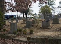 cemeteries are scary