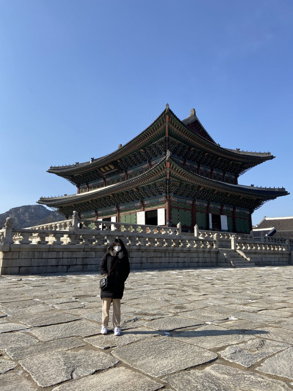 <p>Emily Rosario is a junior studying abroad at Seoul National University in South Korea. Photo courtesy of Rosario.</p>