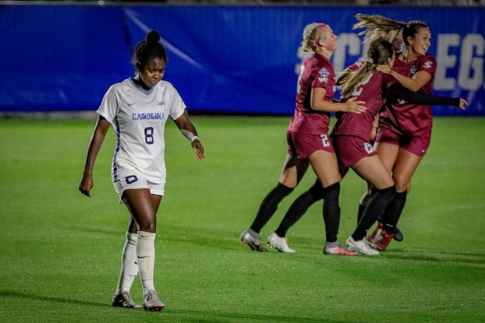 UNC women's soccer loses to Santa Clara 3-1, falls short of third-straight  title game - The Daily Tar Heel