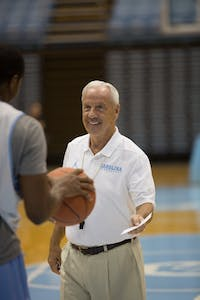 roy williams media day
