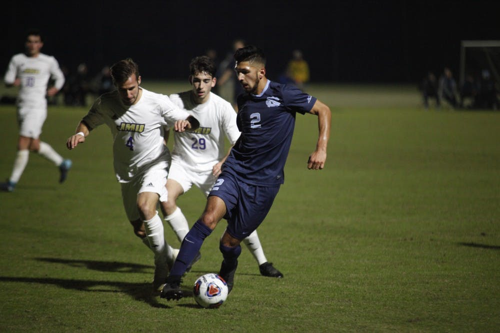 UNC men's soccer captain Mauricio Pineda leads the team with 'quiet confidence'