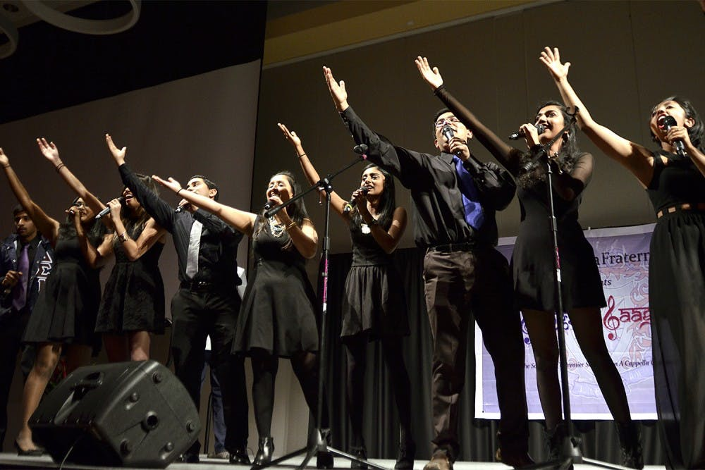 UNC is home to the state's only South Asian a cappella group, Samaa