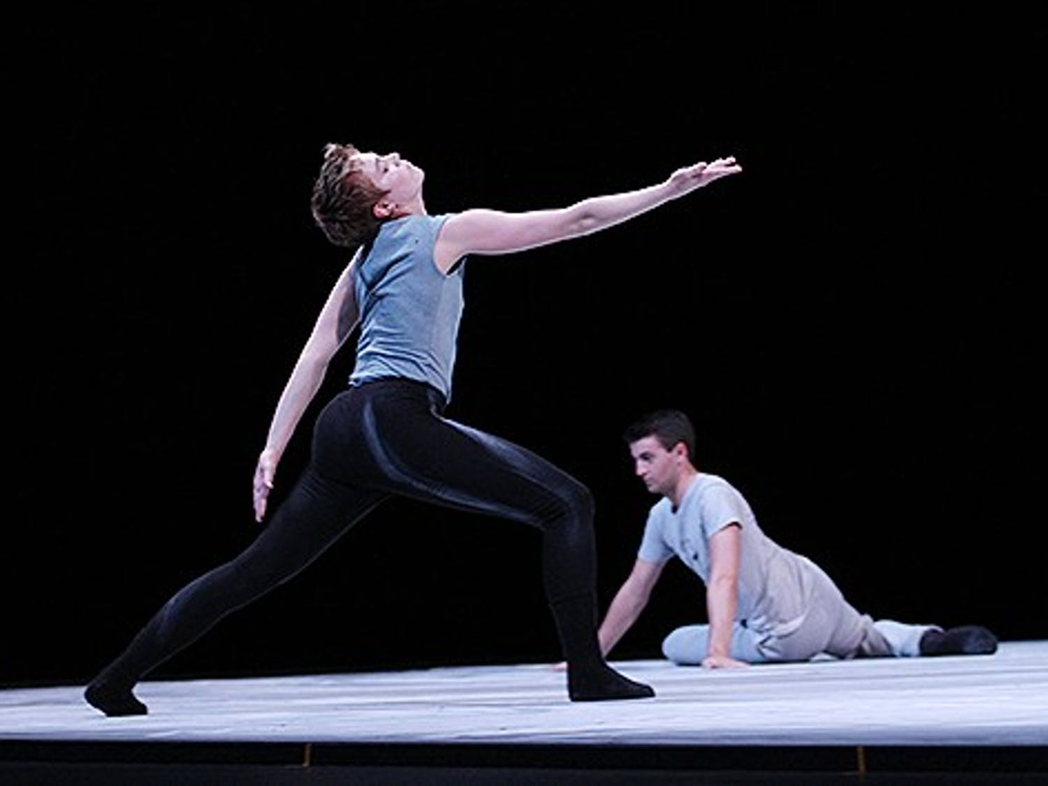 Shen Wei Dance Arts performs Rite of Spring staged by Kate Jewett in Memorial Hall Saturday and Sunday night at 8pm.