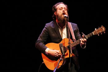 Iron and Wine played at Memorial Hall on Wednesday night. The Secret Sisters, a duo from Alabama, opened for him.