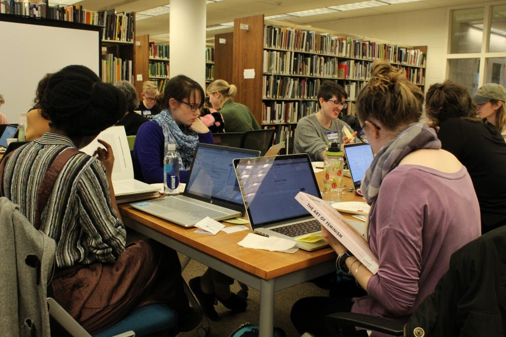 UNC libraries give feminism a voice with Wikipedia edit-a-thon