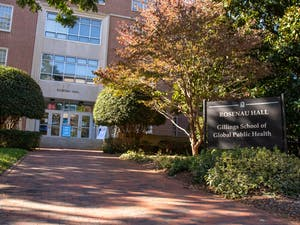 The Gillings School of Global Public Health as pictured on Tuesday, Nov. 3, 2020.