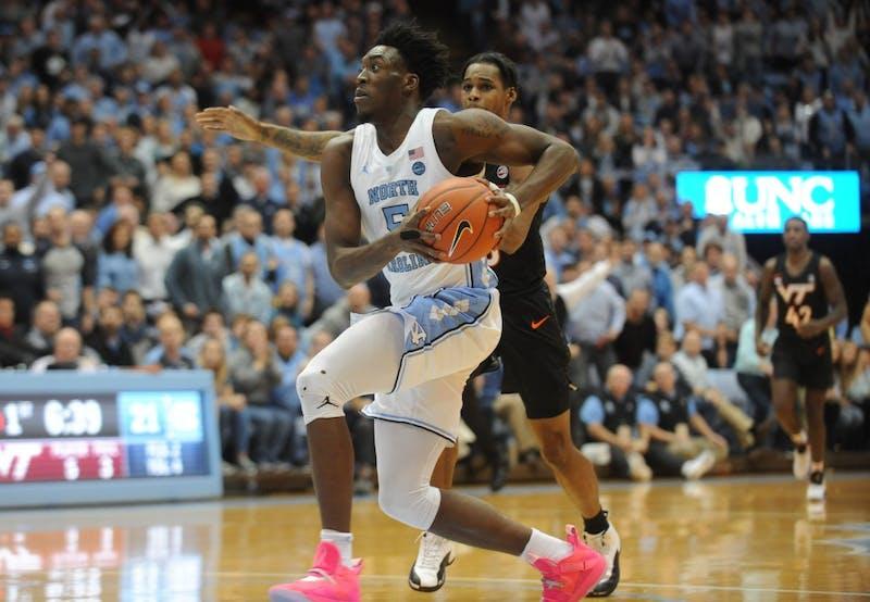 UNC men's basketball defeated Virginia Tech 103-82 Monday, Jan. 21, 2019 at the Smith Center.