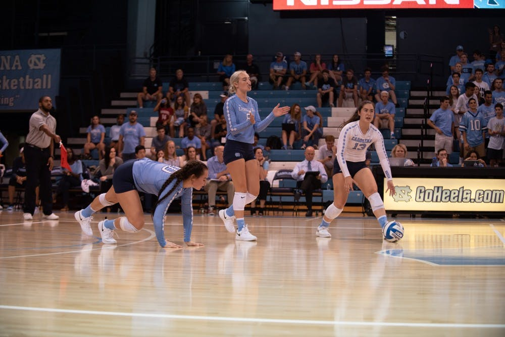 UNC volleyball drops two-of-three matches in Buffs Invitational