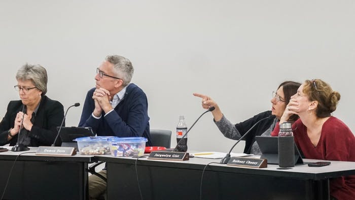 The Carrboro Board of Aldermen discussed numerous conditions for the proposed development on Old Fayetteville Drive on Tuesday, Oct. 22, 2019.