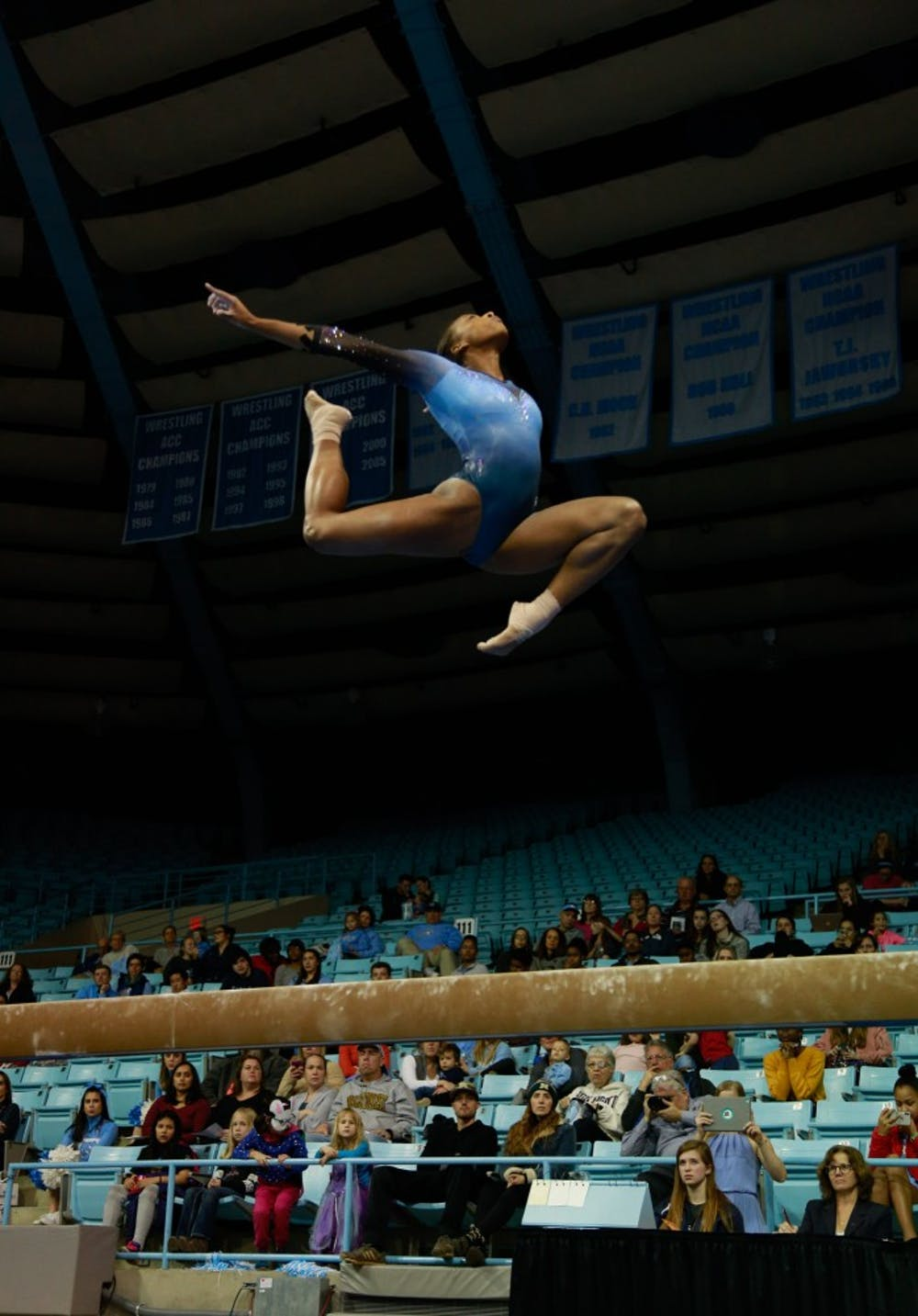 North Carolina gymnastics falls to N.C. State for second time in 2019