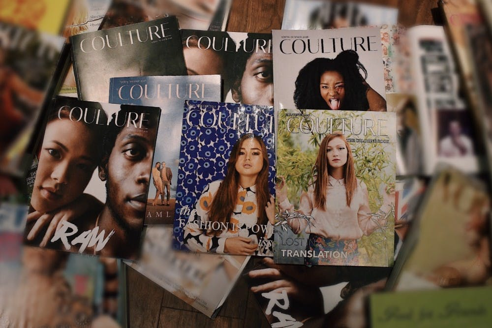 Coulture Magazine 'cuts the fluff' in latest issue