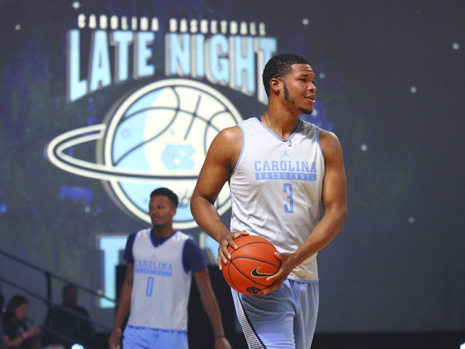 Chapel Hill got a sneak peak of the 2016 Carolina basketball teams at Late Night with Roy on Friday night.