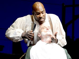 PlayMakers Repertory Company production of Sweeny Todd.CREDIT:  Jon Gardiner