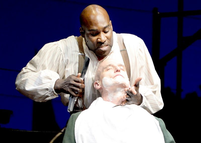 PlayMakers Repertory Company production of Sweeny Todd.