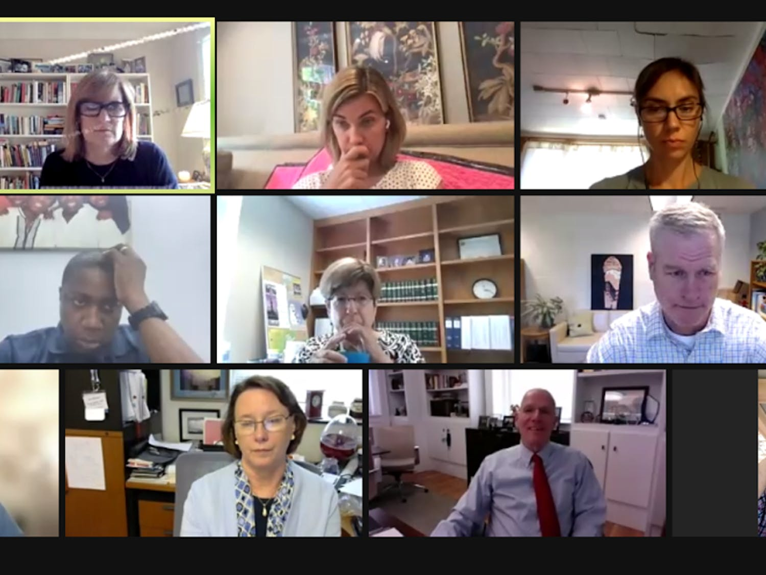 The Faculty Executive Committee held a special meeting on Aug. 4.