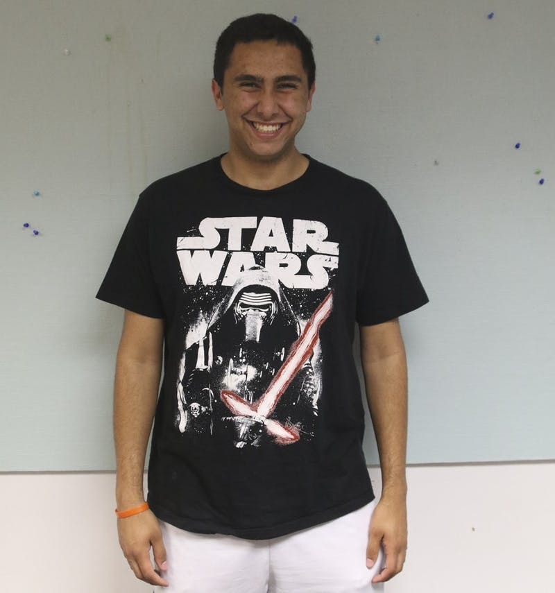 Co-Photo Editor Alex Kormann is a super fan of the Star Wars franchise and universe.