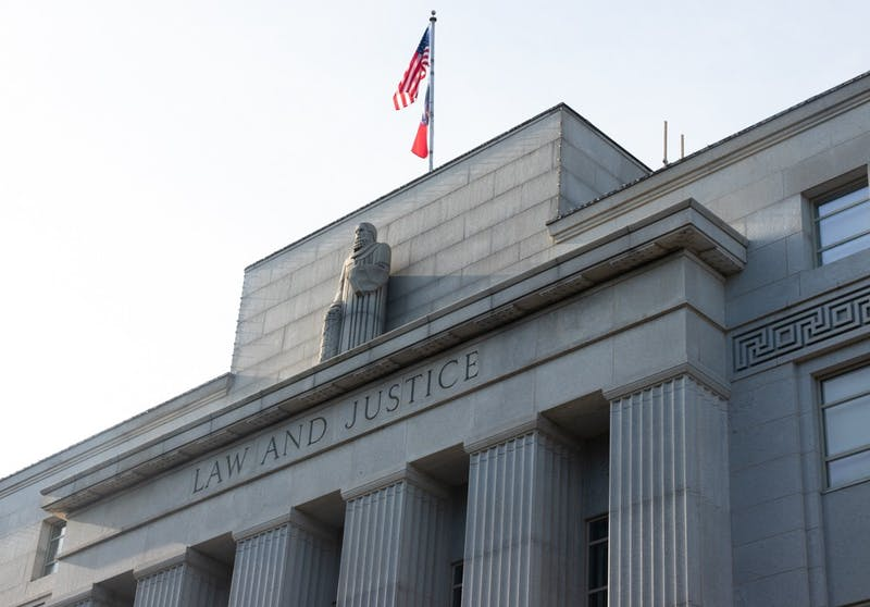 The North Carolina Supreme Court in the Law and Justice Building in Raleigh, N.C pictured on Tuesday, Aug. 18, 2020. The N.C Supreme Court recently ruled that the Racial Justice Act is required to help end racism against prisoners on death row.