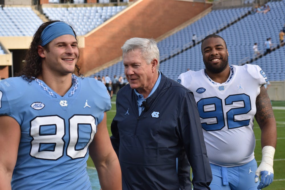 'Be the one': UNC football debuts culture shift during Saturday's spring game