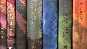 A collection of the Harry Potter book series. Courtesy of Tribune News Service.