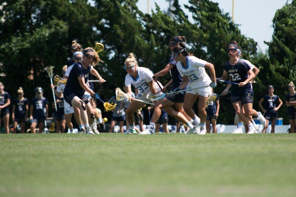 North Carolina women's lacrosse upset by Navy in NCAA quarterfinals