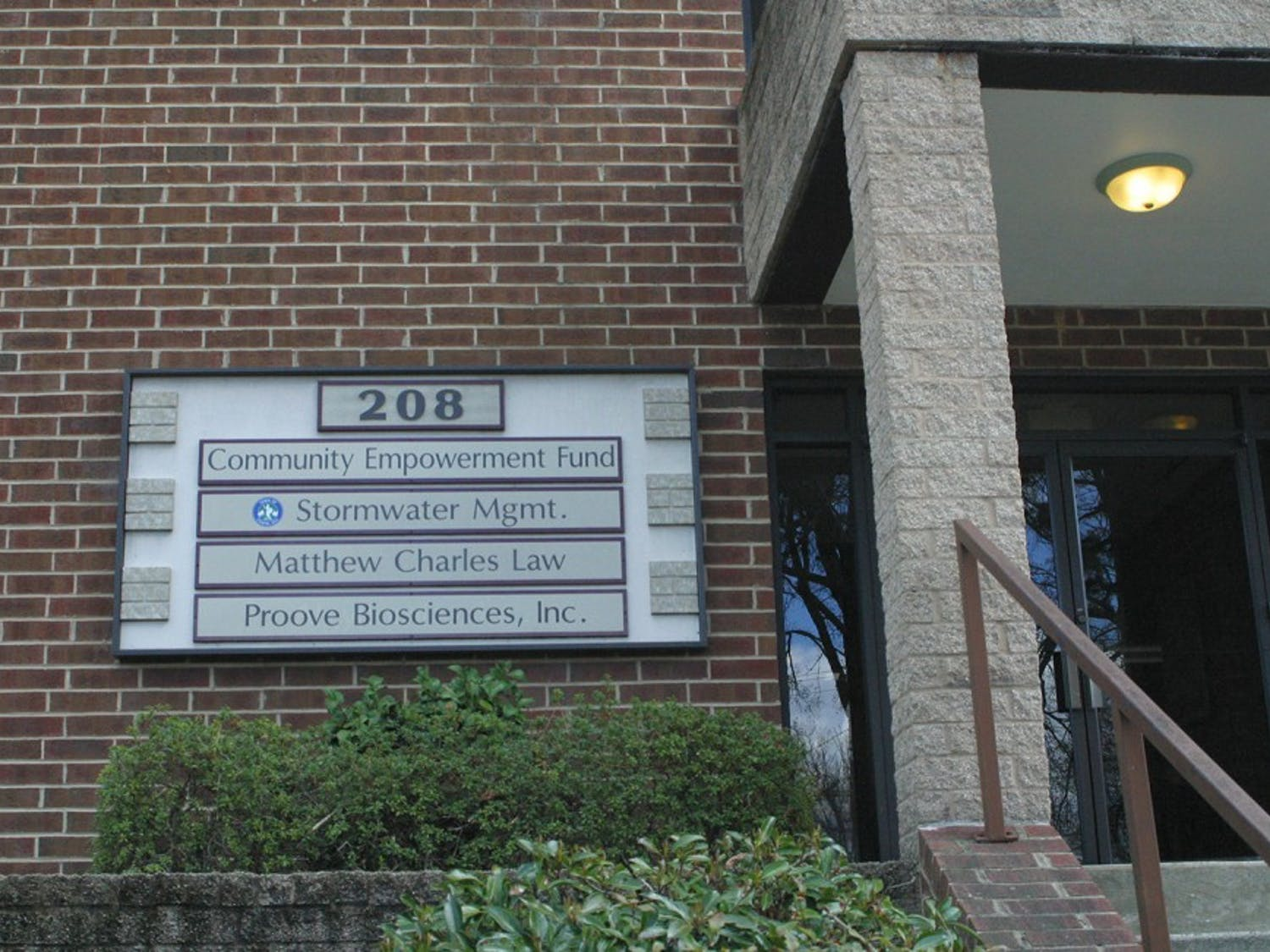 The Community Empowerment Fund, which works to aid transitions from homelessness and poverty, has anoffice location in Chapel Hill.