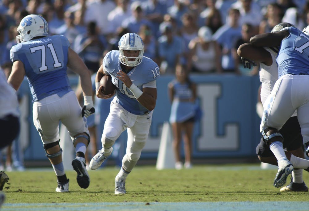 Former UNC quarterback Mitch Trubisky drafted No. 2 overall by the Chicago Bears in the 2017 NFL Draft