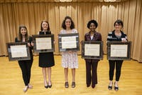 University Awards for the Advancement of Women. Held at the Sonja Haynes Stone Center on the campus of the University of North Carolina at Chapel Hill. March 19, 2019. Photo courtesy of Jon Gardiner/UNC-Chapel Hill.