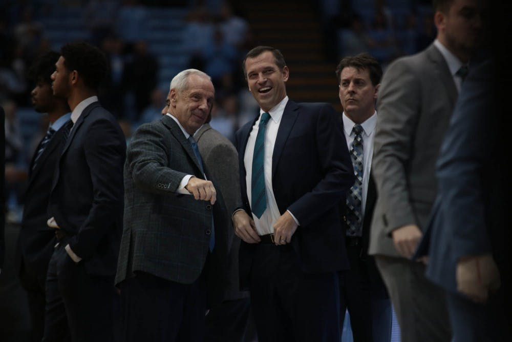 Roy Williams reflects on conversation with George H.W. Bush after win Wednesday night
